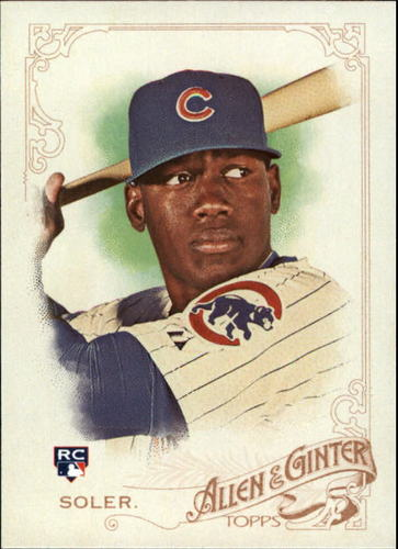 Photo of 2015 Topps Allen and Ginter #151 Jorge Soler RC