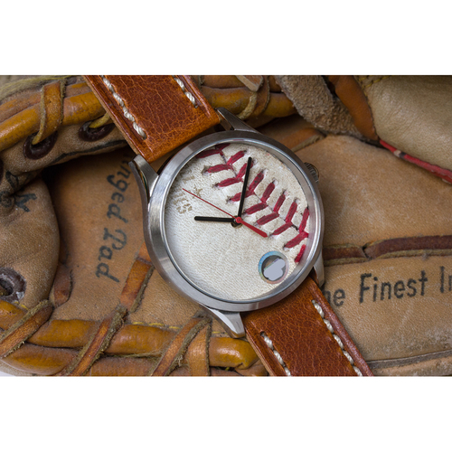 Photo of Tokens & Icons Houston Astros 2017 World Series Game Used Baseball Watch - Game 7