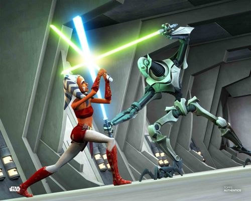 Ahsoka Tano and General Grievous