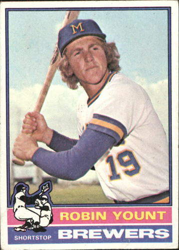 Photo of 1976 Topps #316 Robin Yount -- Hall of Famer
