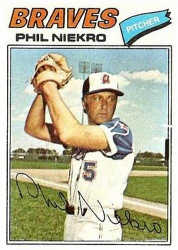 Photo of 1977 Topps #615 Phil Niekro