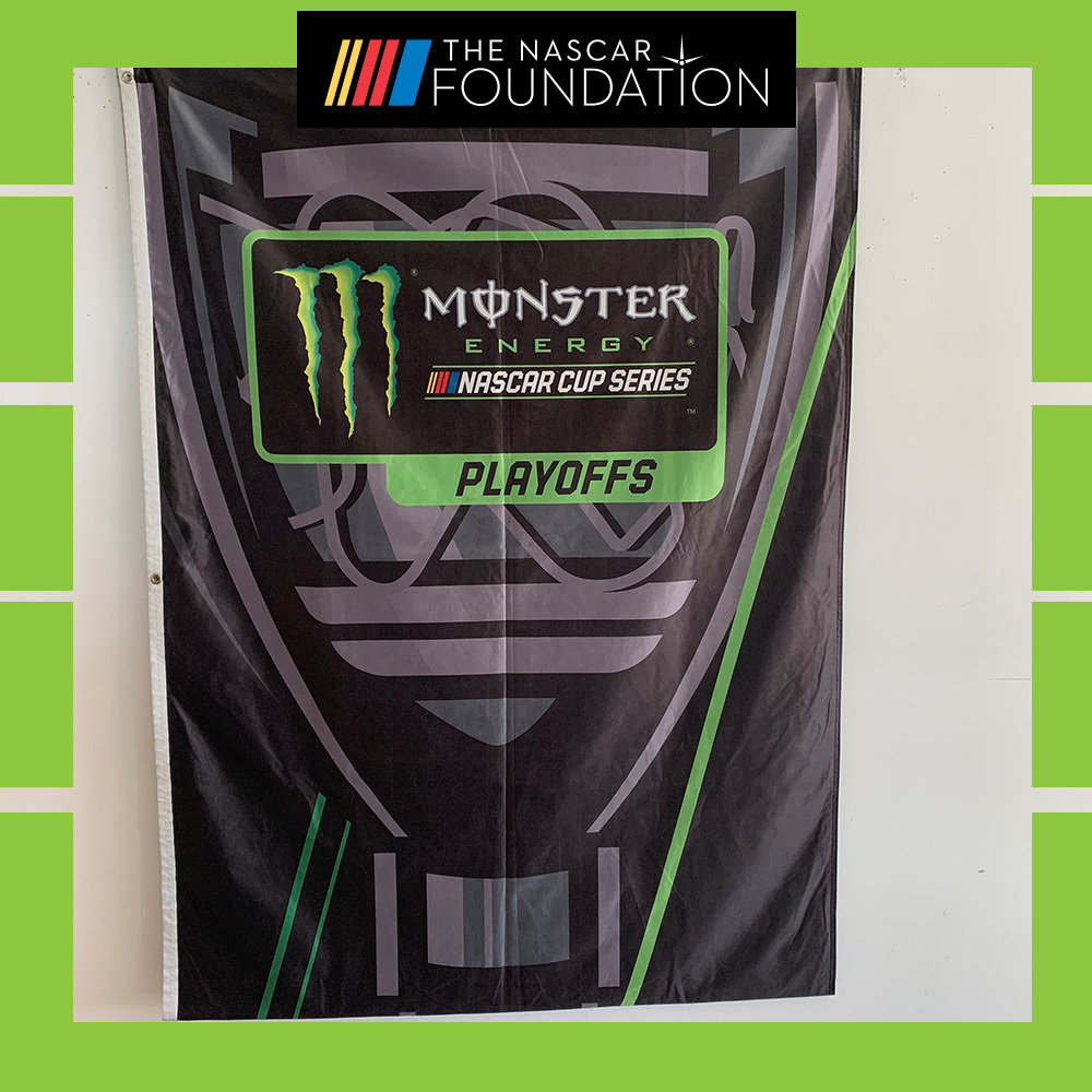 NASCAR MENCS 2018 Playoff Race Displayed Banner!