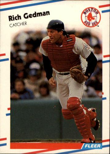 Photo of 1988 Fleer #353 Rich Gedman