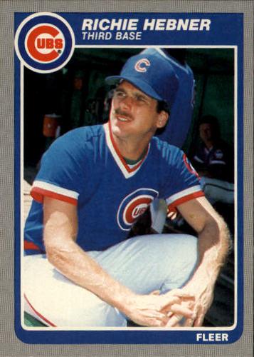 Photo of 1985 Fleer #59 Richie Hebner
