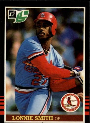 Photo of 1985 Leaf/Donruss #225 Lonnie Smith