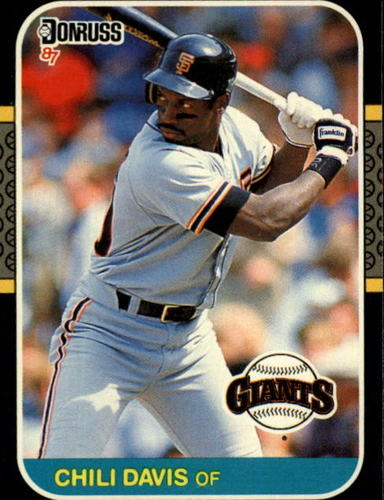 Photo of 1987 Donruss #268 Chili Davis