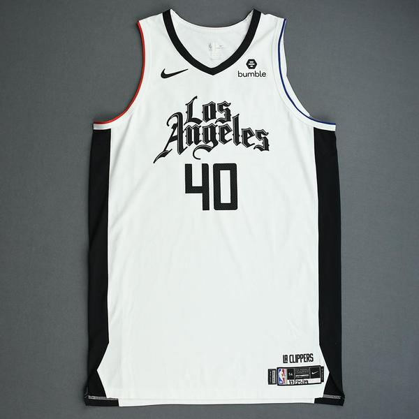 Image of Ivica Zubac - Los Angeles Clippers - Christmas Day' 19 - Game-Worn City Edition Jersey - Worn 2 Games