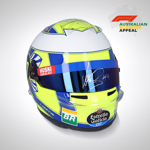 Photo of Lando Norris 2019 Replica Race Helmet