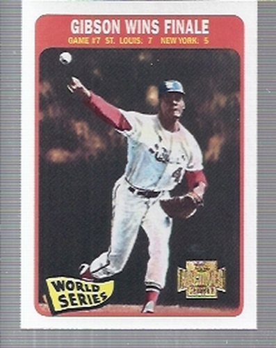 Photo of 2001 Topps Archives #223 Bob Gibson WS 65