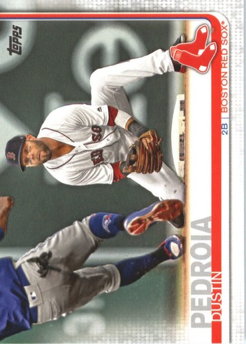 Photo of 2019 Topps #440 Dustin Pedroia