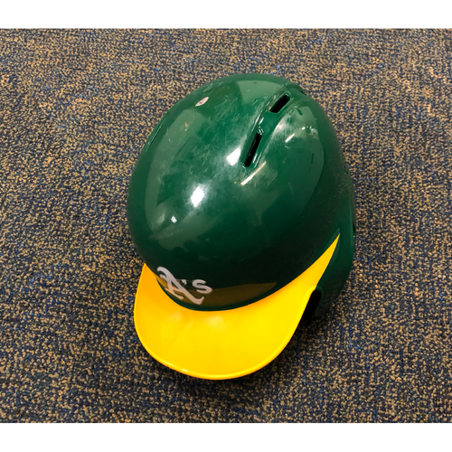Photo of Game-Used Helmet - Stephen Piscotty