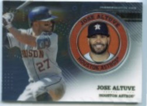 Photo of 2020 Topps Player Medallions #TPMJA Jose Altuve