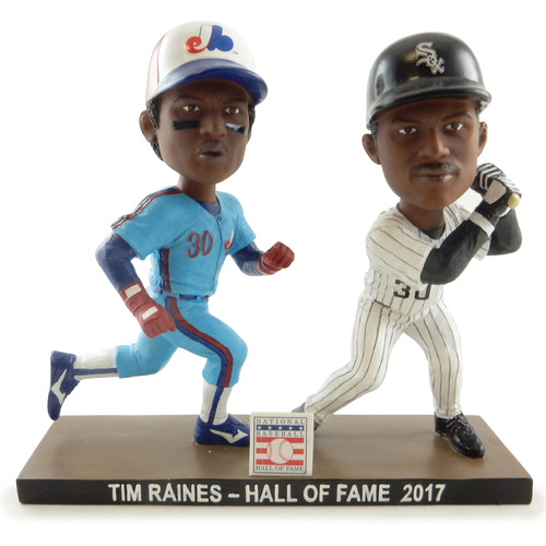 Photo of Limited-Edition Tim Raines Dual Bobblehead