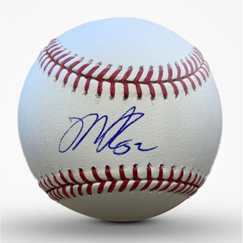 Photo of Mike Clevinger Autographed Baseball