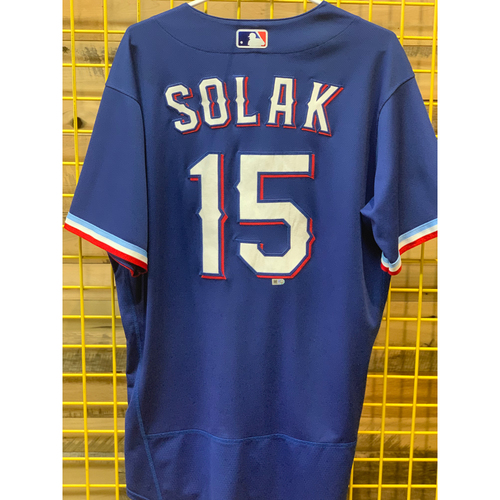 Photo of Nick Solak Game-Used Spring Training Jersey