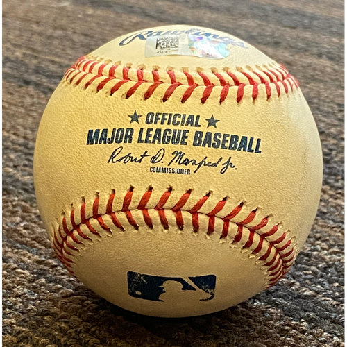 Photo of Trey Mancini - Foul Ball: Game Used