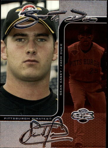 Photo of 2006 Topps Co-Signers Changing Faces Silver Red #77C Zach Duke/Sean Casey