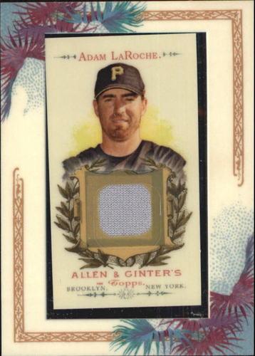 Photo of 2007 Topps Allen and Ginter Relics #AL Adam LaRoche J