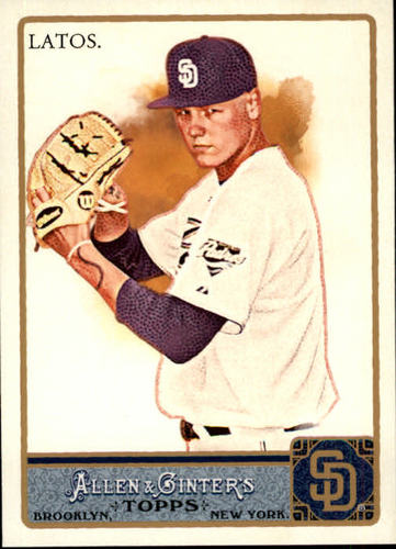 Photo of 2011 Topps Allen and Ginter #162 Mat Latos