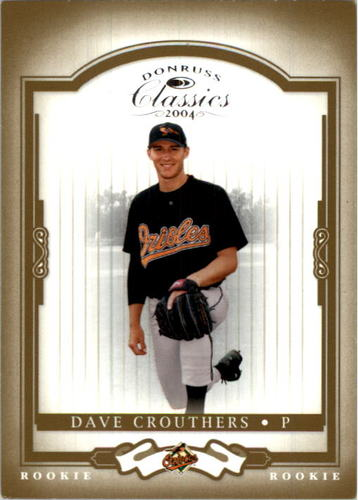 Photo of 2004 Donruss Classics #204 Dave Crouthers ROO RC