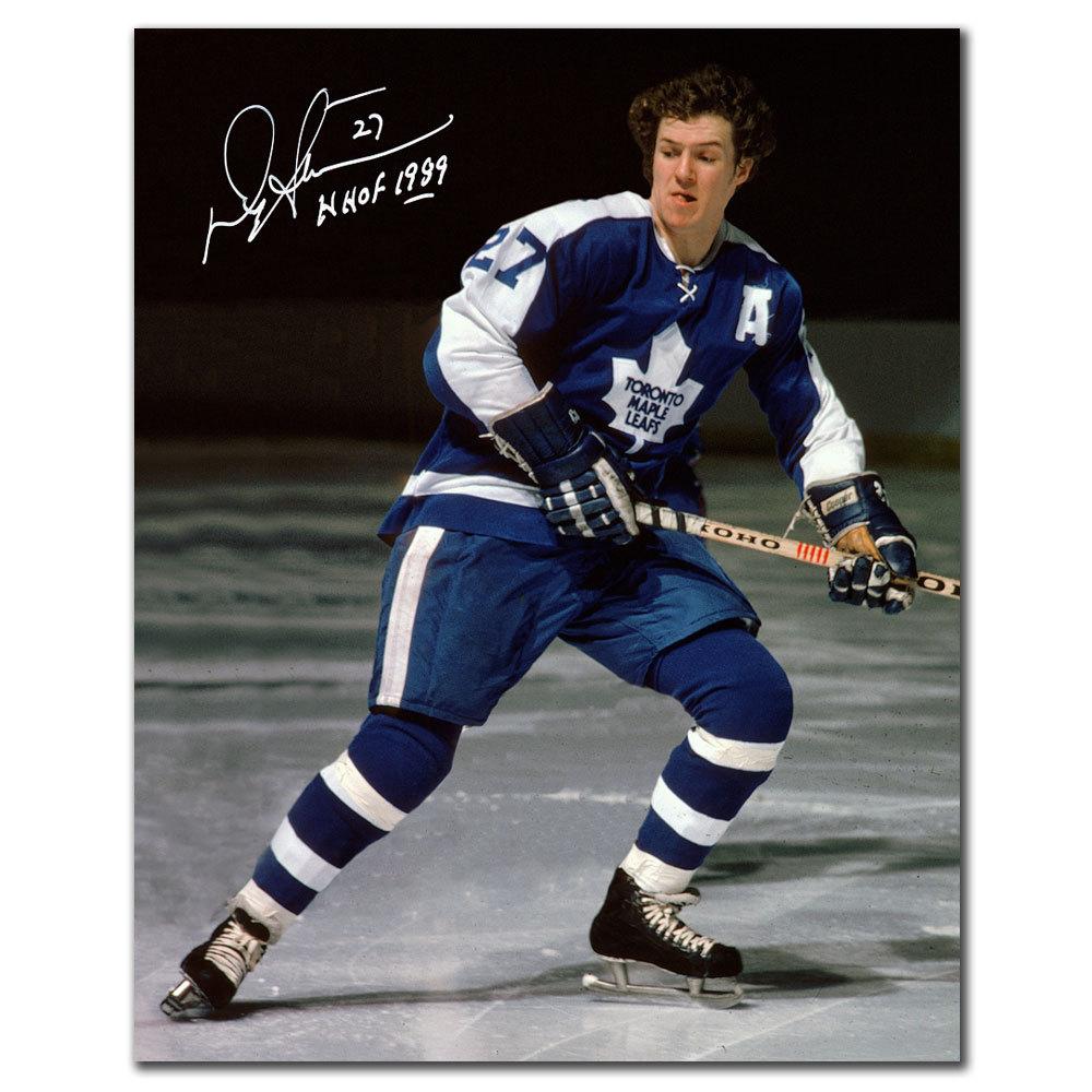 Darryl Sittler Toronto Maple Leafs Hof Autographed 8x10 Nhl Auctions