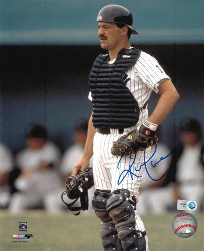 Rick Cerone Autographed 8x10