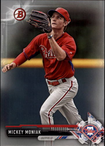 Photo of 2017 Bowman Prospects Silver #BP135 Mickey Moniak RC /499