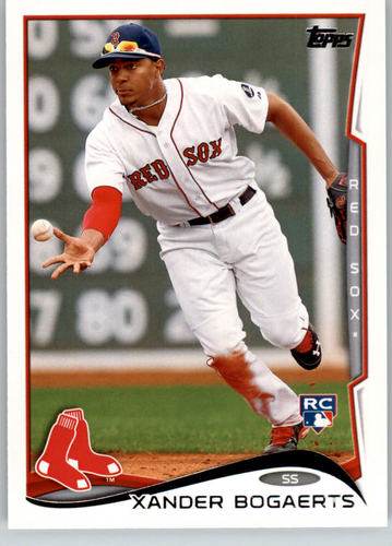 Photo of 2014 Topps #133A Xander Bogaerts Rookie Card