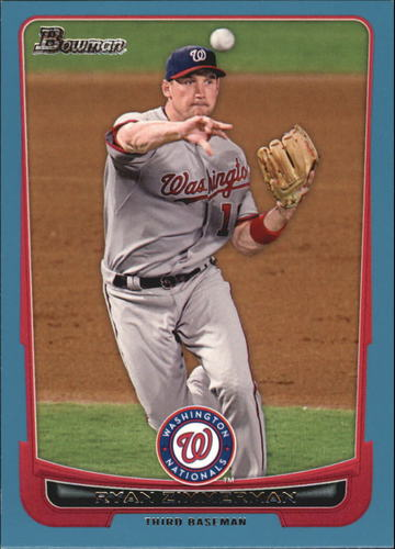 Photo of 2012 Bowman Blue #79 Ryan Zimmerman 447/500