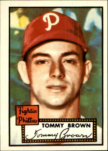 Photo of 1983 Topps 1952 Reprint #281 Tommy Brown