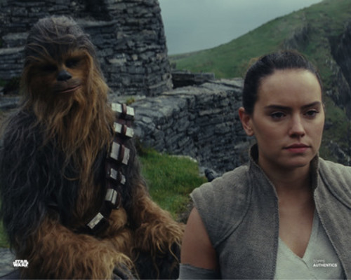Chewbacca and Rey