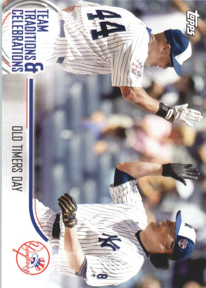 2018 Topps Opening Day Team Traditions and Celebrations #TTCOTD Old Timers Day