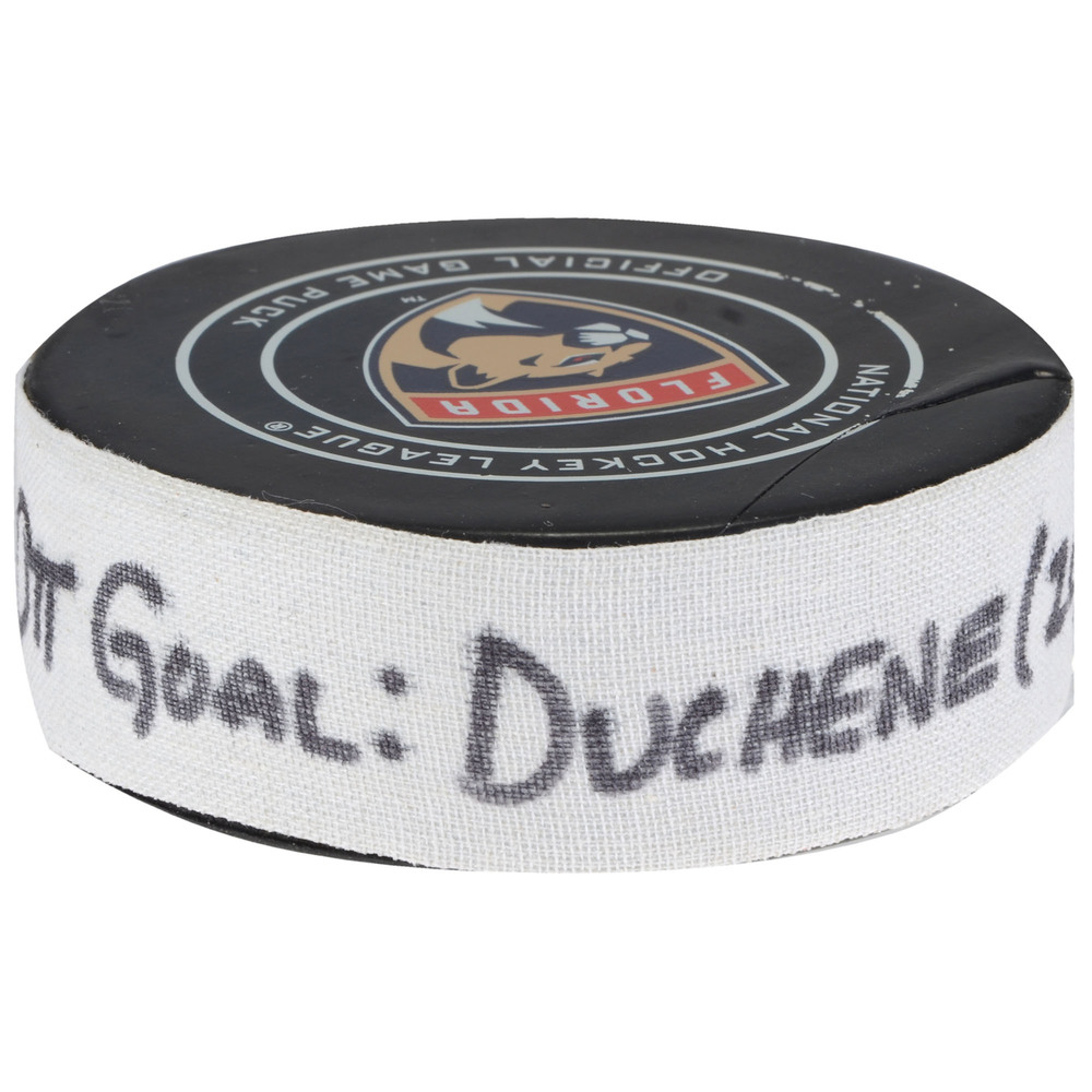 Matt Duchene Ottawa Senators Goal Scored Puck from March 12, 2018 @ Florida Panthers - First Goal of Two Goals Scored