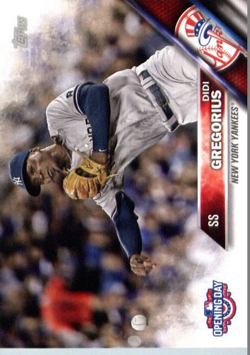 Photo of 2016 Topps Opening Day #OD56 Didi Gregorius