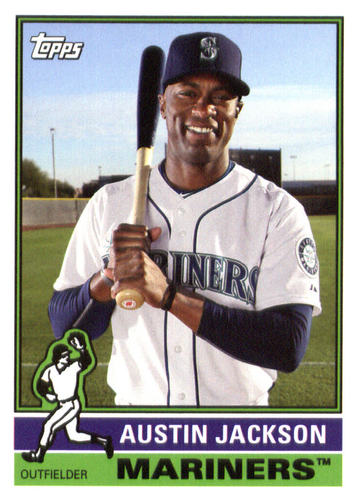 Photo of 2015 Topps Archives #140 Austin Jackson