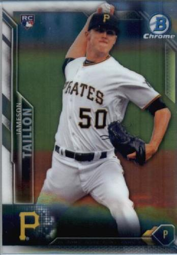 Photo of 2016 Bowman Chrome #14 Jameson Taillon RC