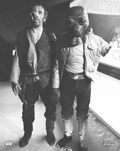 Ponda Baba and Dr. Evazan