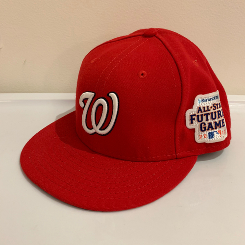 Photo of 2013 All Star Futures Game -  Game Used Cap  -  A.J. Cole (Washington Nationals) Size - 7 -3/8