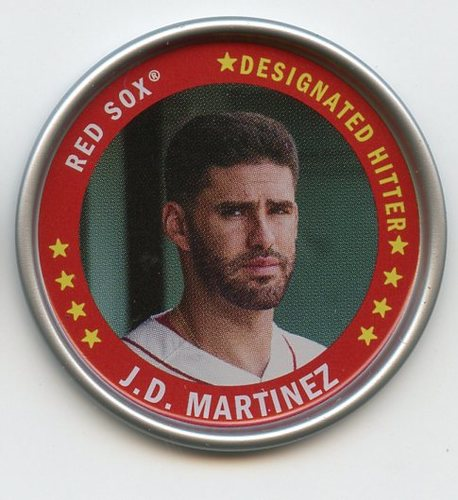 Photo of 2019 Topps Archives Coins #C14 J.D. Martinez