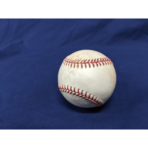 Photo of Los Angeles Dodgers Game-Used Baseball: Pitcher: Sam Howard, Batter: Enrique Hernandez (RBI Single) - Bot 4 - 9/20/19 vs. COL