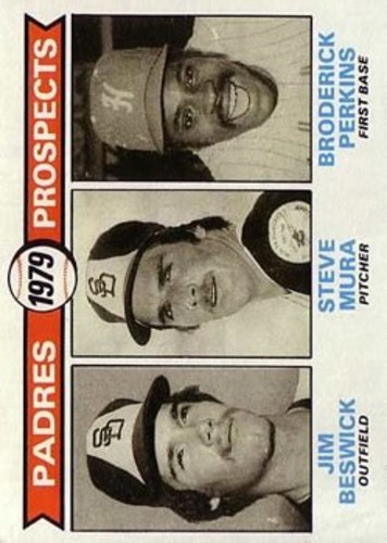 Photo of 1979 Topps #725 Jim Beswick RC/Steve Mura RC/Broderick Perkins RC