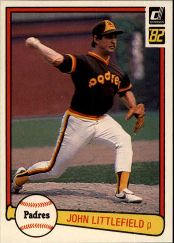 Photo of 1982 Donruss #145 John Littlefield