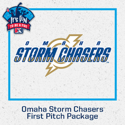 Photo of Omaha Storm Chasers First Pitch Package