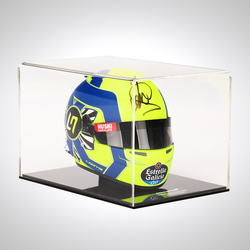 Photo of Lando Norris 2020 Signed 1:2 Scale Helmet