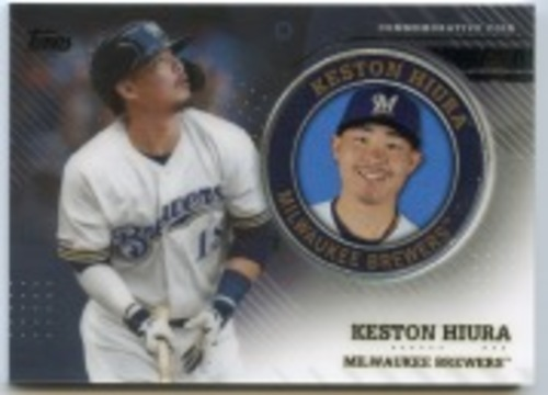 Photo of 2020 Topps Player Medallions #TPMKH Keston Hiura