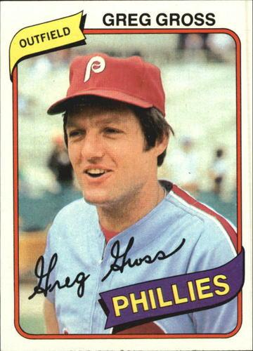 Photo of 1980 Topps #718 Greg Gross