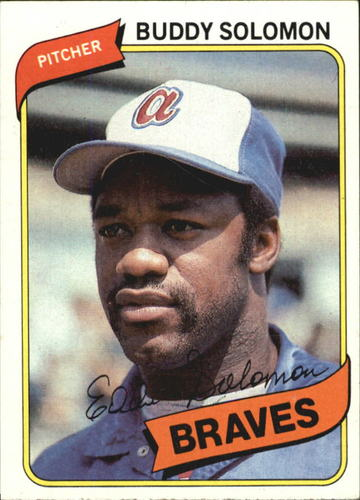 Photo of 1980 Topps #346 Buddy Solomon