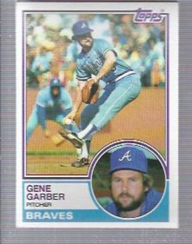 Photo of 1983 Topps #255 Gene Garber