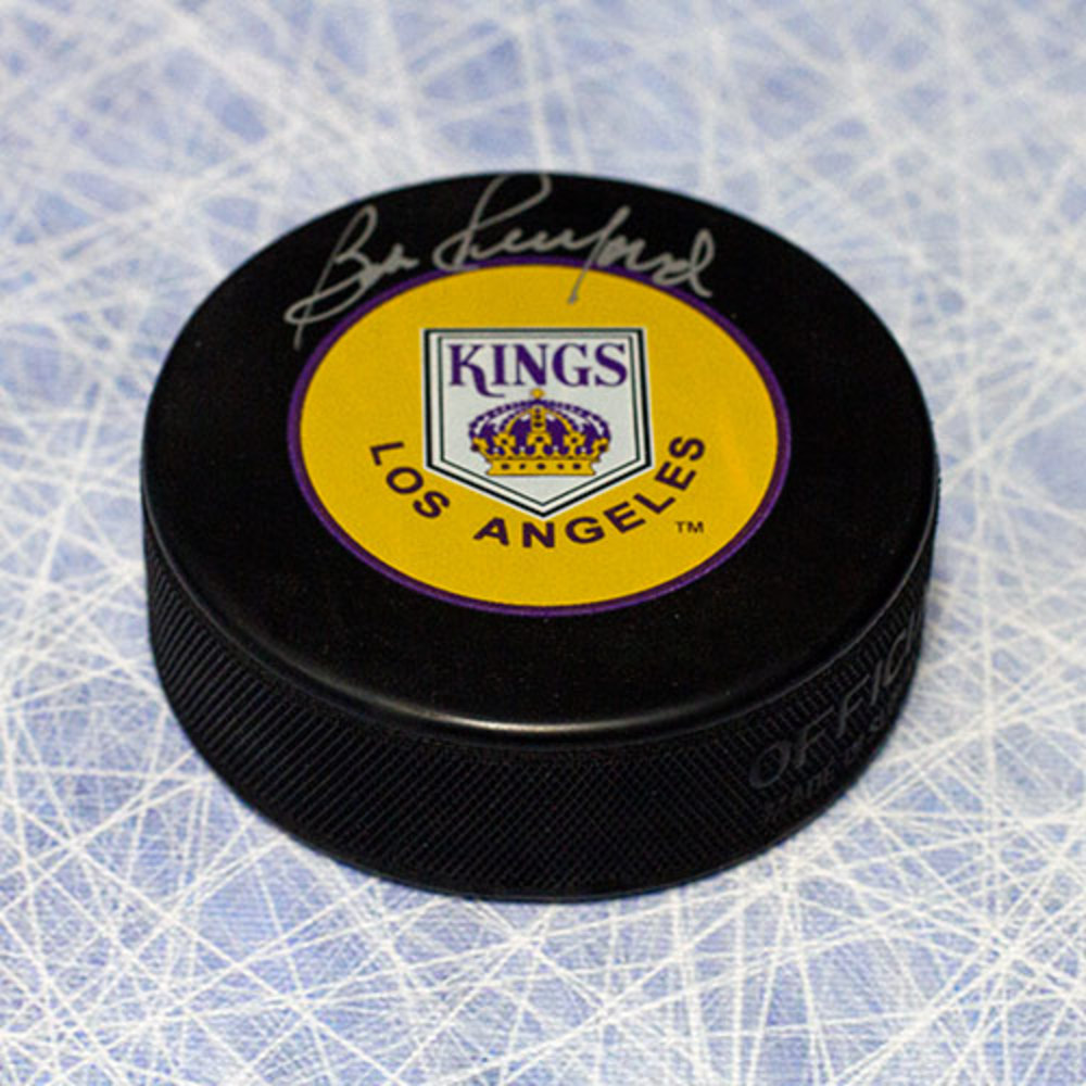 Bob Pulford Los Angeles Kings Autographed Hockey Puck