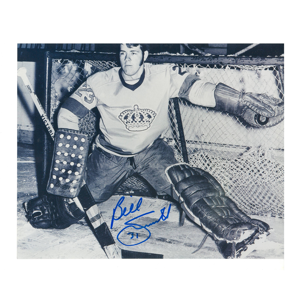 BILLY SMITH Signed Los Angeles Kings 8 X 10 Photo - 70082